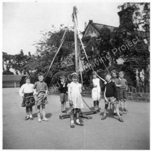 High Green Primary School , May Day.