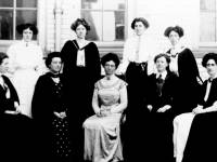 Wimbledon County School for Girls: Miss Batho and Staff