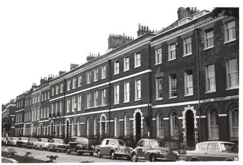 Southernhay West, c1960, Exeter