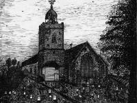 The Old Church at Mitcham