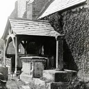 Allensmore Church, south porch