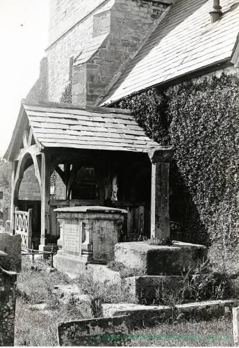 Allensmore Church, south porch