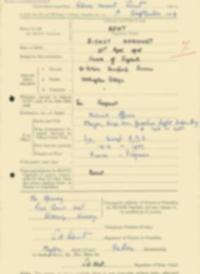 RMC Form 18A Personal Detail Sheets Feb & Sept 1933 Intake - page 230