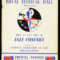 National Federation of Jazz Organisations, Royal Festival Hall - 1951 001