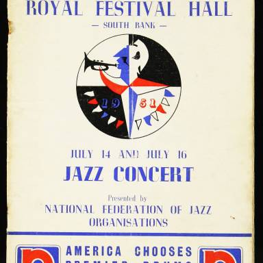 National Federation of Jazz Organisations, Royal Festival Hall - 1955 001