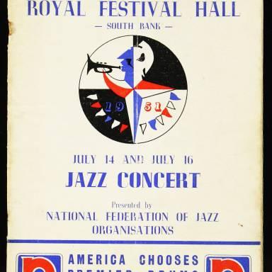 National Federation of Jazz Organisations, Royal Festival Hall - 1955 001