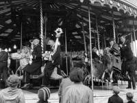 Mitcham Fair opening Ceremony: Fairground ride