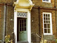 Eagle House, London Road: Portico