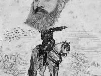 Collingsby caricature depicting Baker Pasha
