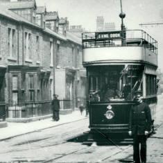 South Shields Corporation Tram car No 4