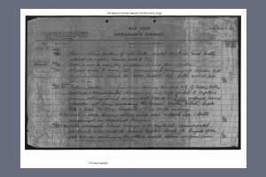 War Diary - Kings Royal Rifle Corps