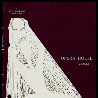 Jersey Opera House, St Helier, Jersey, October 1964