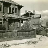 Fernhill Avenue, bomb damage, Blitz