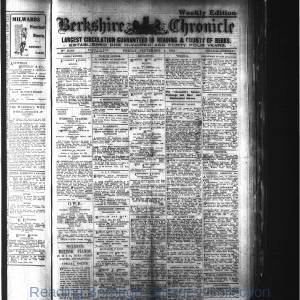 Berkshire Chronicle Reading 09-1914
