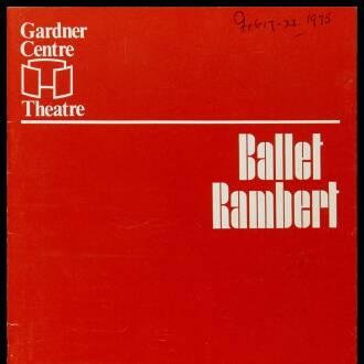Gardner Centre Theatre, Brighton, February 1975