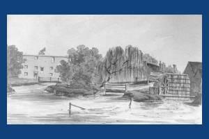 London Road, Mitcham: Snuff Mill