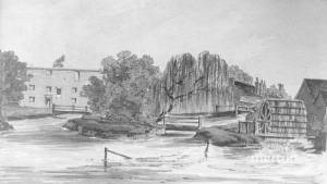 London Road, Mitcham: Snuff Mill