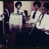 Fairview Baptist Church Boys Band, 1971.