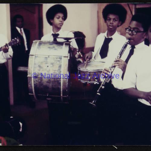 Fairview Baptist Church Boys Band, 1971.