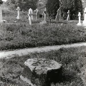 Clehonger, socket stone of cross