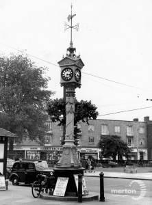 Fair Green, Mitcham: Clock tower