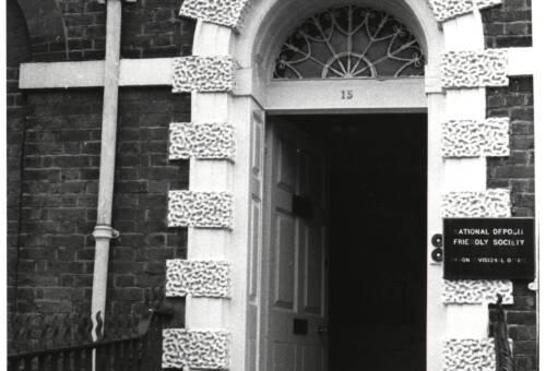 Doorway to15 Southernhay West, c1960, Exeter
