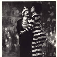 Photograph - Sleeping Beauty 1982 - Johnny Beattie and Lou Grant