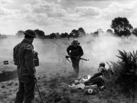 The local Home Guard on Mitcham Common