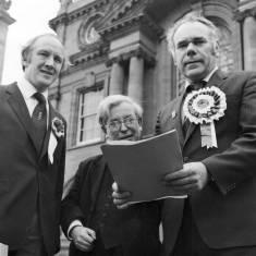 David Clark, Leonard Romey and Don Dixon