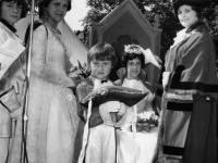 Crowning of May Queen, Sandra Keys