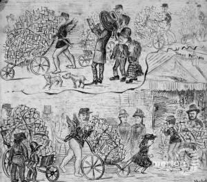 Saint Valentine's day 1878