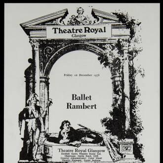 Theatre Royal, Glasgow, November–December 1978