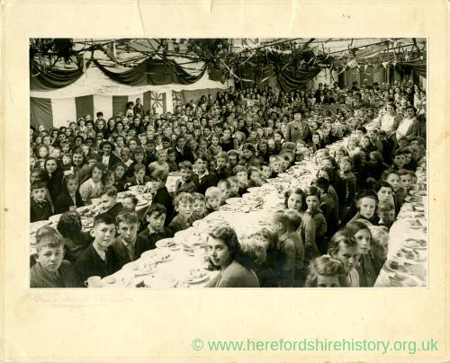 World War II: Children's Victory Party 1945