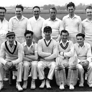 Unknown cricket XI.