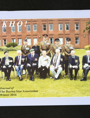 DEKHO! The Journal of The Burma Star Association - Issue No. 184, Year 2016