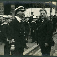 Cadets from the Training Ship Wellesley