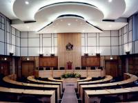London Road, Morden: Civic Centre Council Chamber
