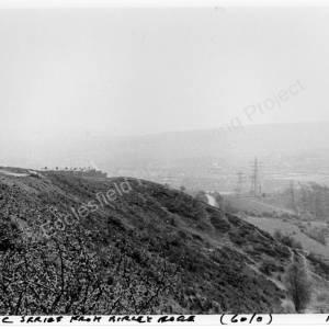 Birley Edge panoramic view.