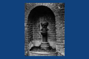 Barker's Farm, High Path: Drinking fountain
