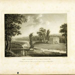 Armston, Kings Caple, Herefordshire, print by J Handy, 1788