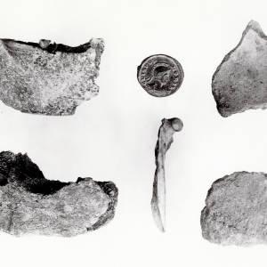 Bronze age Hfd, Llanigon Barrow contents