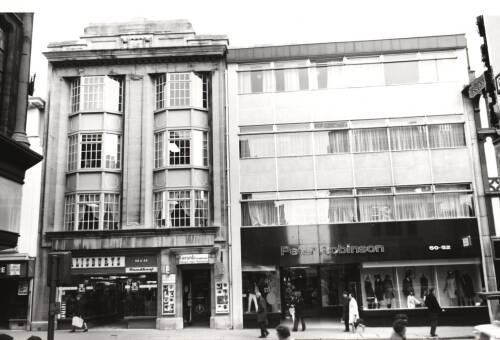 Exeter High Street, c1970, Exeter