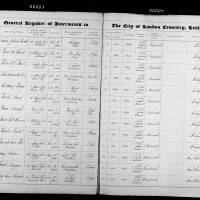 Burial Register 23 - March 1873 to October 1873