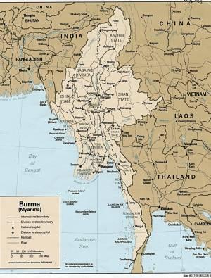 Burma as it is now