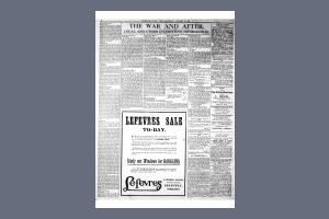 11 JANUARY 1919