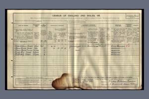 1911 Census - 5 Homewood Terrace, Mitcham