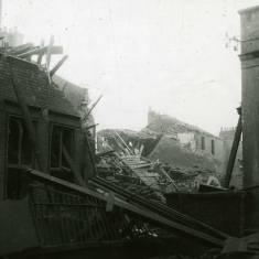 World War II damage to Chapter Row