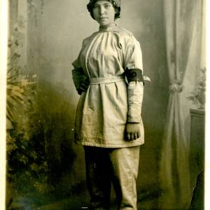 First World War munitions worker