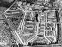 Aerial view of the Pollards Hill estate