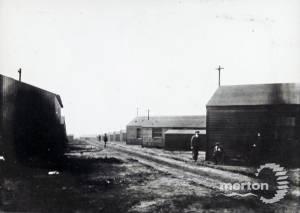 Army Camp, Wimbledon Common:  First World War
